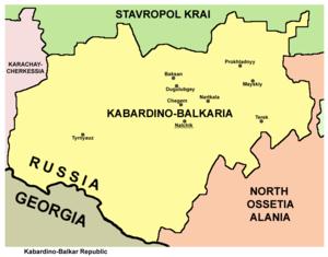 History of Kabardino-Balkaria - Modern Kabardino-Balkaria