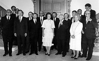Second Van Agt cabinet Dutch cabinet (1981-1982)
