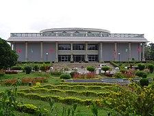 The Kalamandira auditorium in Mysore hosts many performances by Rangayana