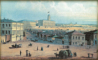 Komsomolskaya Square (Moscow) - Image: Kalanchovka