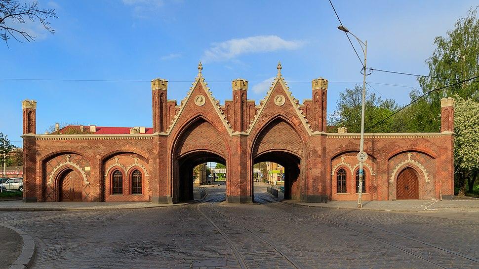 Kaliningrad 05-2017 img37 Brandenburg Gate
