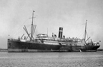 TSS Kanowna - An undated photograph of Kanowna