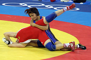 Kaori Icho - Icho at the 2008 Olympics