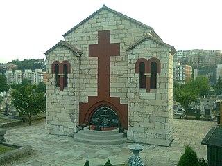 Vidovdan Heroes Chapel Orthodox Christian chapel and mausoleum