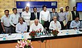 Kapil Sibal handed over the ToT agreement and Certificate of Partnership for the WiTraC (Solar Power Operated and Vehicle Actuated Wireless Traffic Signal Controller) Technology, at a function, in New Delhi on July 24, 2013.jpg