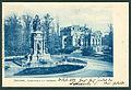 Karl F. Wunder PC 0527 Hannover, Kriegerdenkmal und Neueshaus.Blau Bildseite.jpg