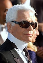 ba0f06d08fb Lagerfeld at the 2007 Cannes Film Festival