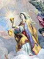 Karlskirche Frescos - Glaube 3 Eucharistie.jpg