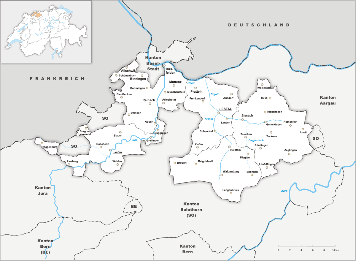 Canton of BaselLandschaft Wikipedia