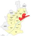 Karte Schweinfurt, Stadtteil 42 Nordöstlicher Stadtteil.png