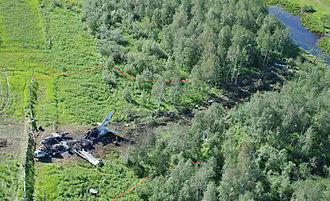 Azur Air - Crash site of Katekavia Flight 9357