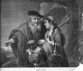 Kath. Illustratie 1869-1870 nr 3 p.17 gravure Hagars vertrek (naar Govert Flinck).jpg