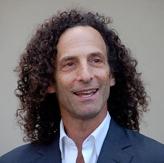 Kenny G American saxophonist