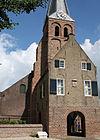kerk en gerechtsgebouw, gellicum