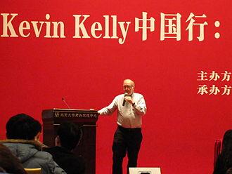 Kevin Kelly (editor) - Kevin Kelly speaking at Peking University