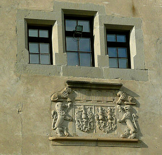 Kežmarok - Coat of arms of the Thököly family.