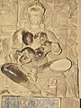 Khajuraho India - Lakshman Temple - Sculpture 15.JPG