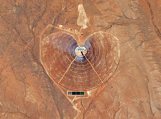 Solar power in South Africa - Khi Solar One concentrated solar power plant