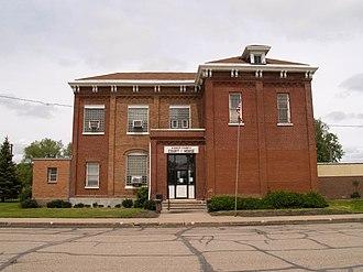 Kidder County, North Dakota - Image: Kidder County Courthouse 2008