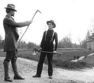Trevor Kincaid - Edmond Meany (left) with Trevor Kincaid (right) in 1905