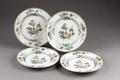 Kinesiska porslinstallrikar - Hallwylska museet - 95889.tif