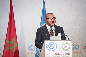 Mohammed VI of Morocco - Speaking in 2016