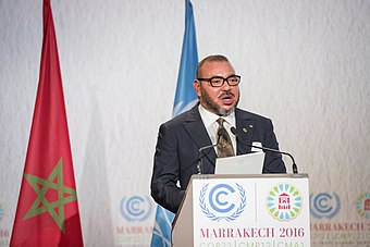 The King of Morocco, Mohammed VI. King Mohammed VI.jpg