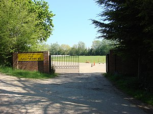 A.F.C. Sudbury - Entrance to A.F.C. Sudbury's grounds