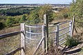 Kissing Gate on a footpath in Darland Banks - geograph.org.uk - 1505700.jpg