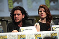 Kit Harington & Rose Leslie 2014 Comic Con.jpg