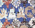 Kizil mural depicting disciples of Buddha.jpg