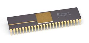Semiconductor package - Image: Kl National Semiconductor NS32008
