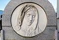 Klagenfurt St Ruprecht Friedhof Grabstein Kassin Marmormedaillon 30122016 5955.jpg