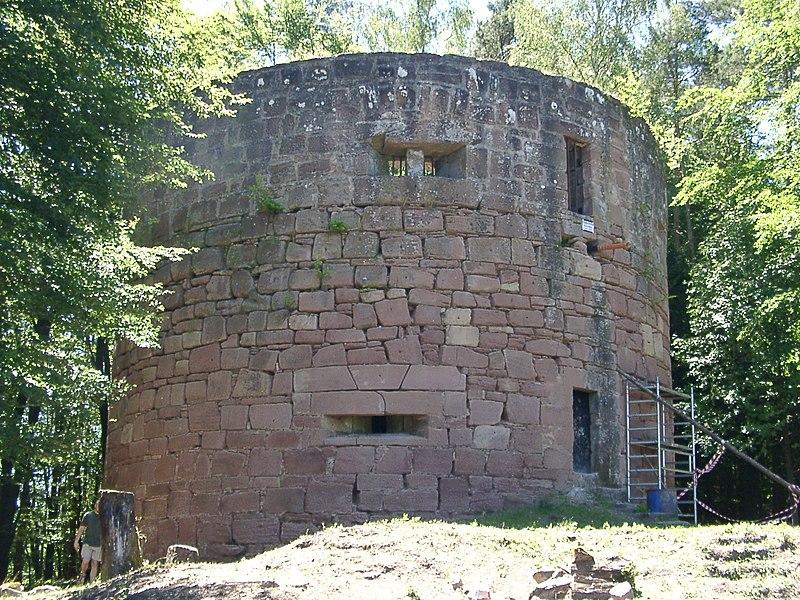 Burg Klein Frankreich bei Erlenbach bei Dahn