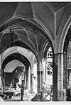 kloostergang west zijde tijdens restauratie - middelburg - 20154373 - rce