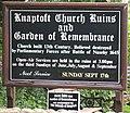 Knaptoft Church Ruins sign - geograph.org.uk - 224699.jpg