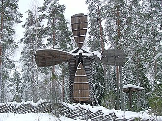 Konnevesi - Image: Konneveden museo Tuulimylly