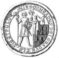 Konrad I Głowgowski seal 1253.PNG