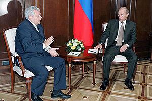 Konstantin Titov - Konstantin Titov and Vladimir Putin, 2007