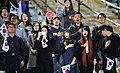 Korean women at the Azadi stadium.jpg