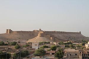 Kot Diji Fort - Kot Diji Fort is located on a hill above the town of Kot Diji.