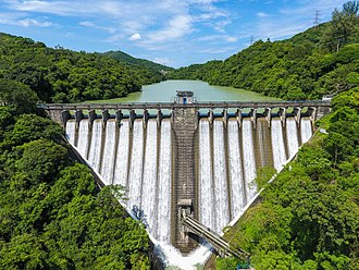 Kowloon Group of Reservoirs - Dam of Kowloon Reservoir