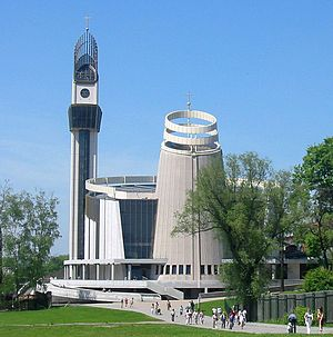 Divine Mercy Sanctuary, Kraków - The Sanctuary of the Divine Mercy.