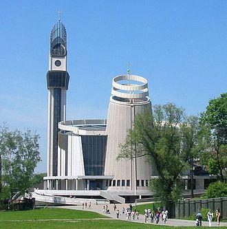 Divine Mercy Sanctuary, Kraków - The Sanctuary of the Divine Mercy.