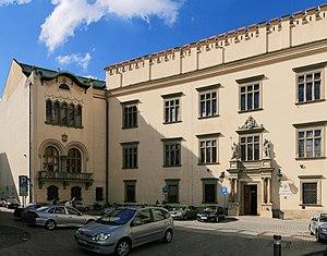Wielopolski Palace - Image: Krakow Wielopolski Palace D06 2p