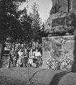 Kriegerdenkmal vor der evangelischen Kirche in Grünheide, Kreis Insterburg (1).jpg