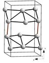 Az α-Ga kristályrácsa