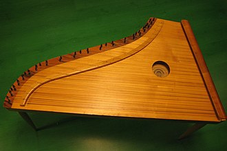 Kannel (instrument) - Large chromatic kannel from the Estonia Piano Factory in 1988.