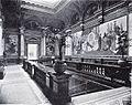 Kunsthalle in Düsseldorf, erbaut 1878 bis 1881 von Ernst Giese und Paul Weidner, Treppenhaus.jpg