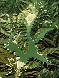 Kurokawa Dam survey 1976.jpg